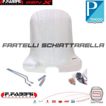 Cupolino Parabrezza Basso Lastra Fumè Piaggio Vespa Special 50 0800E