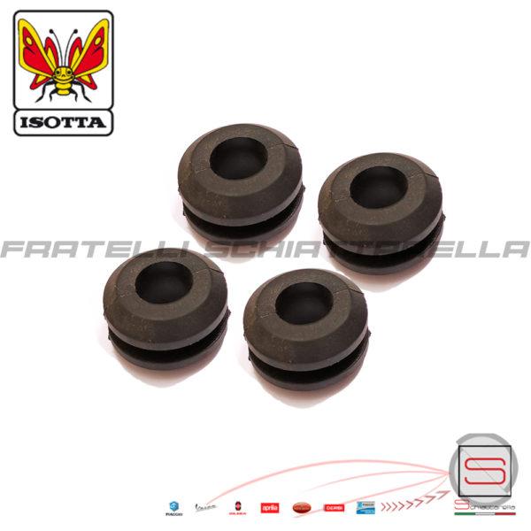 Kit 4 Gommini Lastra Parabrezza Isotta Serie 4 gommini per parabrezza spessore 34 mm R10