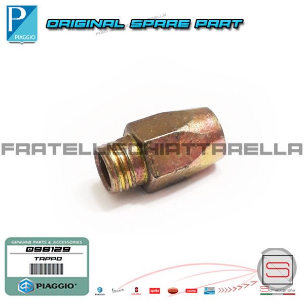 Tappo Baccello Starter Carburatore SHB Originale Piaggio Vespa PK XL FL 2 HP 50 098129