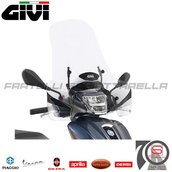 Parabrezza Paravento Givi Solo Lastra Piaggio Medley S 125-150 I-GET 2020 7057A A5615A
