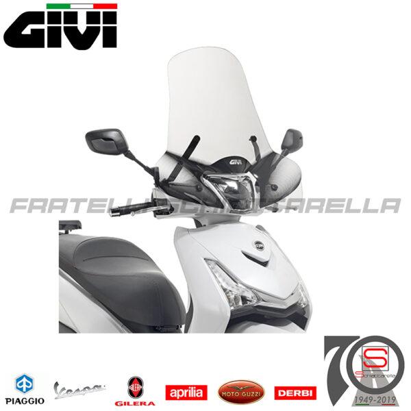 Parabrezza Paravento Givi Solo Lastra Sym HD300 2019 7057A A7057A
