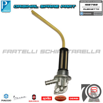 Rubinetto Benzina Con Riserva Originale Piaggio Vespa Px 125 150 200 121670050 158793 5326