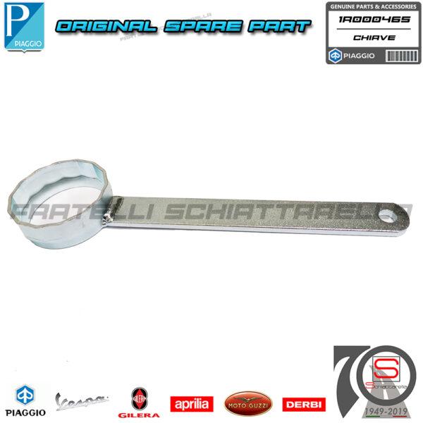 Chiave Attrezzo Poligonale D.49 Filtro Cartuccia Olio Motore Originale Piaggio Aprilia Peugeot Derbi Gilera 82635R 483727 438037 AP8580128 26.0183 1R000465