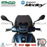 Cupolino Fumè Parabrezza Basso Faco Piaggio Medley 125 150 My20 2020 29090