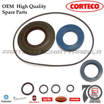 Kit Paraoli + O-Ring Corteco Viton Revisione Motore Piaggio Vespa Px 125-150 Sim 154817 1548185699-C 431122 431121 130536 017781 5699-CV