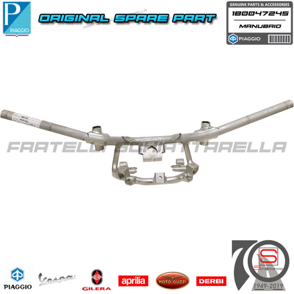 Manubrio Originale Piaggio Beverly 125 300 350 2010-2020 1B0047245 1B004724 6563665 6737075 656366 1B005946 Tubo Sterzo