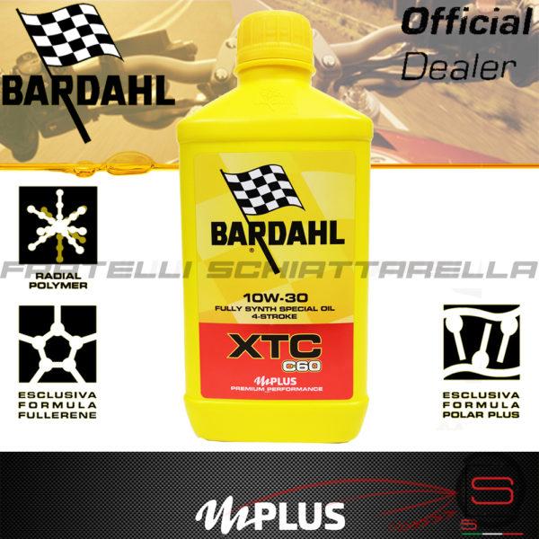 Olio Motore Moto Bardahl XTC C60 10W30 4T Polarplus Fullerene Mplus 10 Sintetico 4 tempi pure perfomance 100% premium lubrificanti 326140 348141