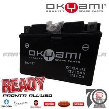 Batteria Accumulatore Moto Scooter OKYAMI YT12A-BS E01129 E06031 E07057 E0820910 yuasa