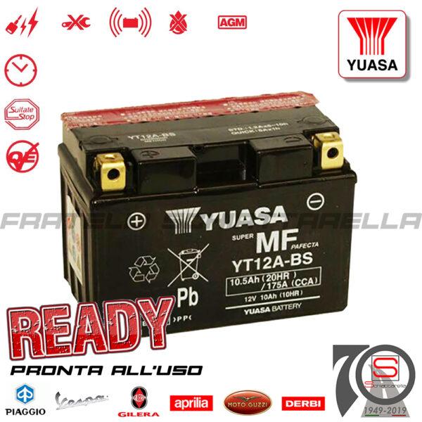 Batteria-Accumulatore-Moto-Scooter-YUASA-YT12A-BS-E01129-E06031-E07057-E0820910-okyami