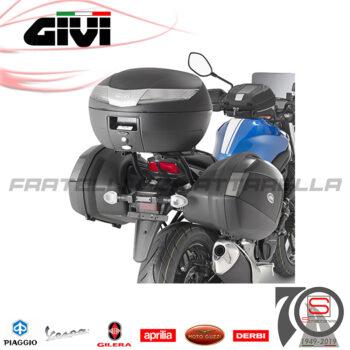Bauletto Valigia Moto Scooter Givi V40NT 40Lt Monokey Centrale Posteriore Nero e catadiottri Fumè Monolock Centrale