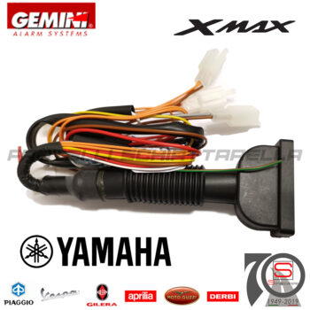 Cablaggio Antifurto Elettronico Gemini Alarm 953NH Yamaha Xmax300 dal 2017 Impianto Connettore Sistema Antirapina Kitca 953NN 953N KITCA1088 xmax 300