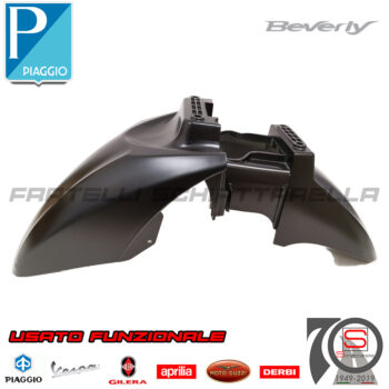 Parafango Anteriore Nero 93B Originale Piaggio Beverly Rst 125 300 350 Dal 2010 66719750NO 66719700NO Police