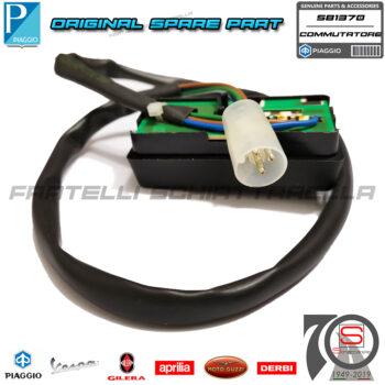 Pulsante Interruttore Commutatore Frecce Indicatori Originale Piaggio Ape TM 581370