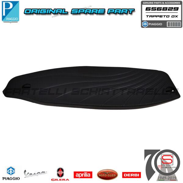 Tappeto Tappetino Pedana Destra Originale Piaggio Beverly 125 300 350 RST Sport Poggiapiedi Gomma Protezione 656829