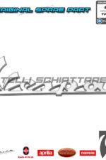 Targhetta Scudo Anteriore Originale Piaggio Vespa PX GTS GTV LX LXV S Sprint 656219 10470 142721110 620530 57356R 673837 623205 673314