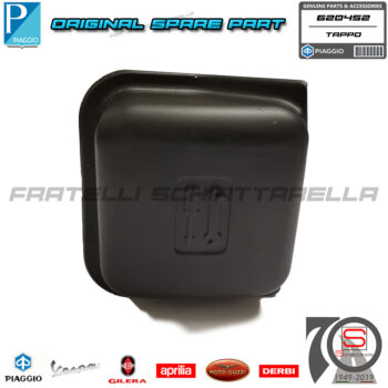 Tappo Trousse Borsa Attrezzi Originale Piaggio Vespa GTS Granturismo Gtv Super 620452 porta attrezzi porta oggetti bauletto