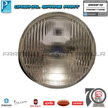 Faro Fanale Fanalino Luce Anteriore Completo Originale Piaggio Vespa 50 Fl2 Hp 265940