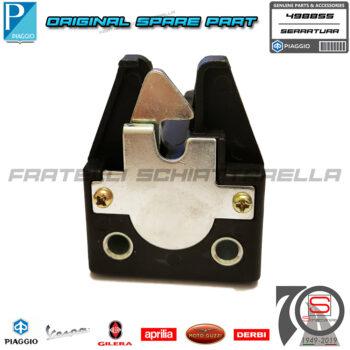 Serratura Sella Completa Di Chiavi Originale Piaggio Vespa Cosa 2 125 1991 1997 498855 498364