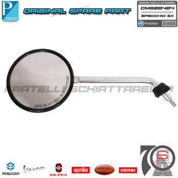 Specchio Sinistro Originale Piaggio Vespa LX 2T 4T 50 125 150 CM020404