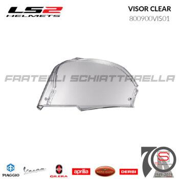 Visiera Visor Trasparente Clear Casco LS2 Valiant II FF900 800900VIS01