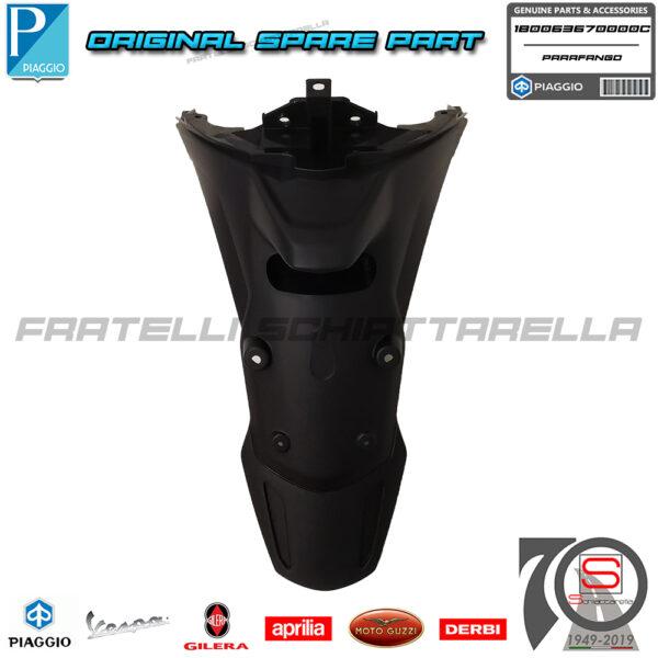 Parafango Paraspruzzi Posteriore Originale Piaggio Medley IE ABS 125 150 2020 1B0063670000C