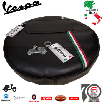 Copriruota Scorta Ruota Vespa 50 125 Special L R N Primavera ET3 Bandiera Italia