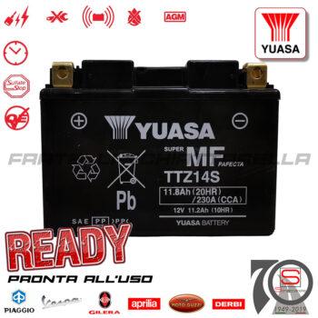 Batteria Accumulatore Moto Scooter Originale YUASA TTZ14S E01161 E06031 E07063 E07383