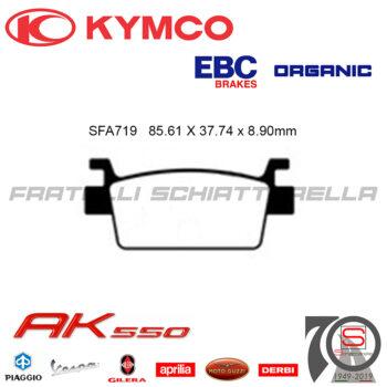 Pastiglie Freno Kymco AK 550 2017 FBD2304EF R1671900 R1771900 43105LGC6305