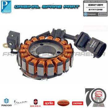 Statore Magnete Completo Originale Piaggio Beverly Rst X9 Evolution 250 584495 58048R AP8577045