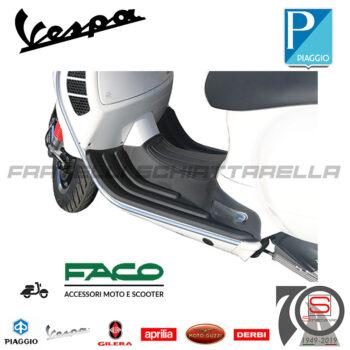 0143 Tappeto Nero Pedana Piaggio Vespa Gts