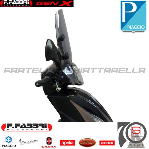 Cupolino Parabrezza Basso Lastra Fumè Summer Piaggio Medley 125 150 2020 3344LS 3342E 3343LS