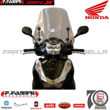 Cupolino Parabrezza Basso Lastra Fumè Summer Fabbri Honda SH 300 2016-2019 3178LD 3179LD 2817E