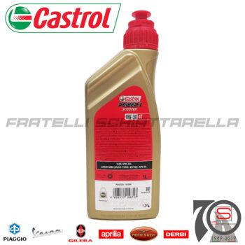 Lubrificante Olio Motore 4 Tempi 0W30 0W 30 Semisintetico Castrol Power 1