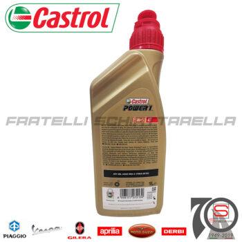 Lubrificante Olio Motore 4 Tempi 15W50 15W 50 Semisintetico Castrol Power 1