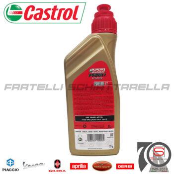 Lubrificante Olio Motore 4 Tempi 5W40 5W 40 Sintetico Castrol Power 1