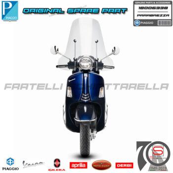Parabrezza Paravento Schermo Originale Piaggio Vespa GTS Super dal 2017 1B006338 1B007195