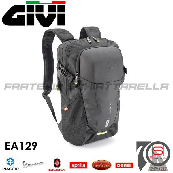 Borsa Zaino Urbano Moto Givi Con Tasca Termoformata 15LT EA129