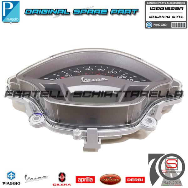 Gruppo Strumenti Originale Piaggio Vespa Gts Super 125 300 1D000502 1D001503R