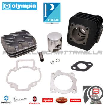 Kit Gruppo Termico Olympia Dm 47 Ghisa Piaggio Gilera Free Zip Et2 50680