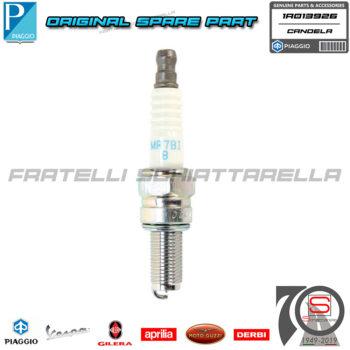 Candela Accensione Ngk MR7BI-8 Originale Piaggio Vespa GTS GTV Beverly Mp3 Sport 1A013926