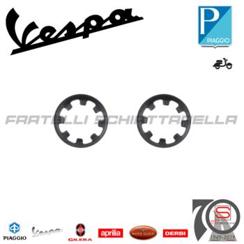 Coppia Anello Fermo Fissaggio Paraspruzzi Protezione Scocca Piaggio Vespa Px 181475 121858500