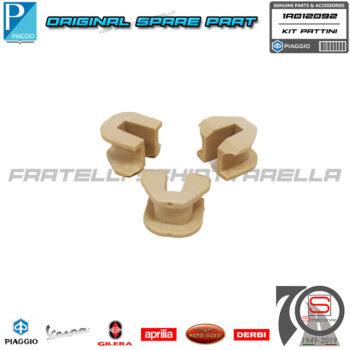 Kit 3 Cursori Tasselli Pattini Guide Variatore Originale Piaggio Beverly Vespa GTS GTV MP3 300 1A012092