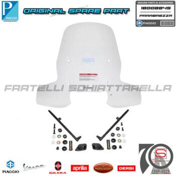Parabrezza Paravento Urban Con Attacchi Originale Piaggio New Beverly 300-400 1B008845