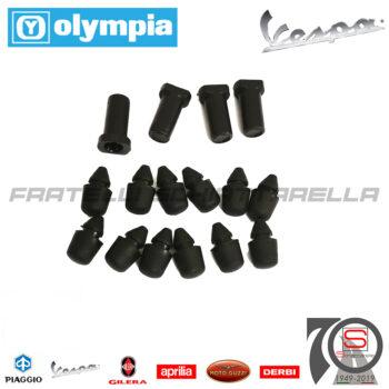 Kit Boccole Gommini Sportelli Bauletti Laterali Piaggio Vespa PK 50 XL Rush 62122