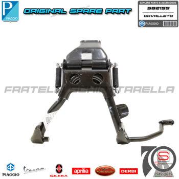Cavalletto Completo Centrale Originale Piaggio Vespa S LX LXV ET2 50 560785 560784 582155 582156