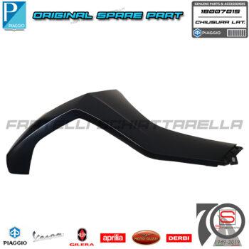 Chiusura Scudo Laterale Destra Nero N12 Originale Piaggio New Beverly 300 400 1B007015000N12 1B007015