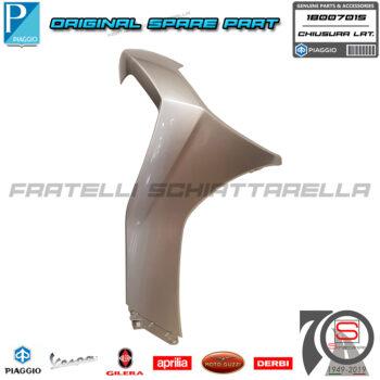 Chiusura Scudo Laterale Destro Grigio G04 Originale Piaggio New Beverly 300 400 1B007015 1B007015000G04