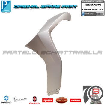 Chiusura Scudo Laterale Sinistra Grigio 760B Originale Piaggio Beverly 300 400 1B007014000H4 1B007014