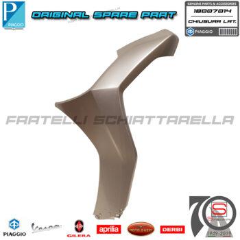 Chiusura Scudo Laterale Sinistra Grigio G04 Original Piaggio New Beverly 300 400 1B007014000G04 1B007014