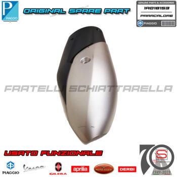 Copertura Protezione Paracalore Marmitta Originale Piaggio New Beverly HPE 300 usato 1A018153